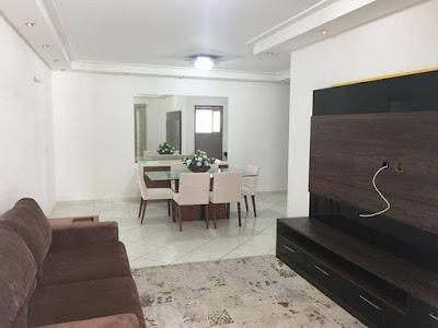 pintura de sala de apartamento pequeno