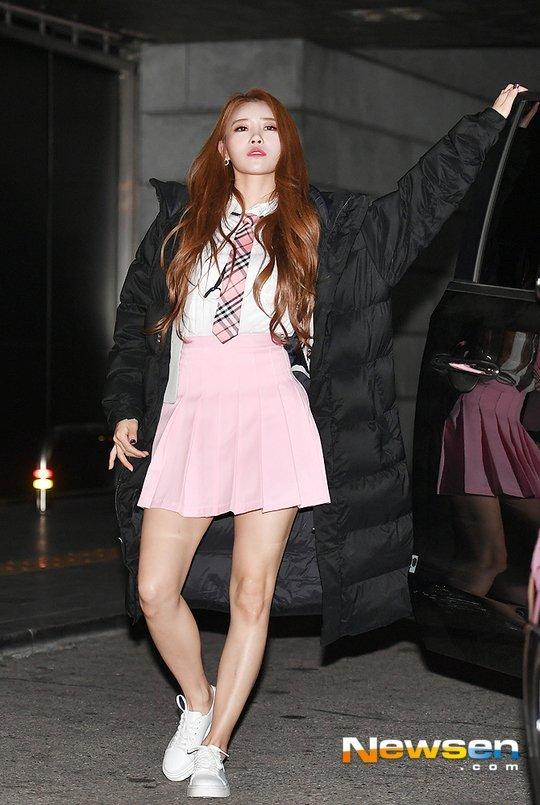 Lee Mijoo provalardan önce yeniden kameralara poz verdi