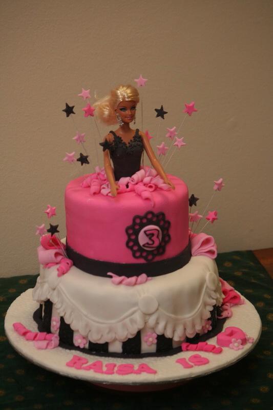 Rizq Cakes Barbie Cake
