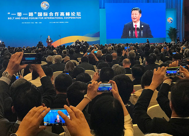 Image Attribute: Opening Speech by Chinese President Xi Jinping at Belt and Road Forum for International Cooperation, Beijing, May 14-15, 2017 / Source: China Daily