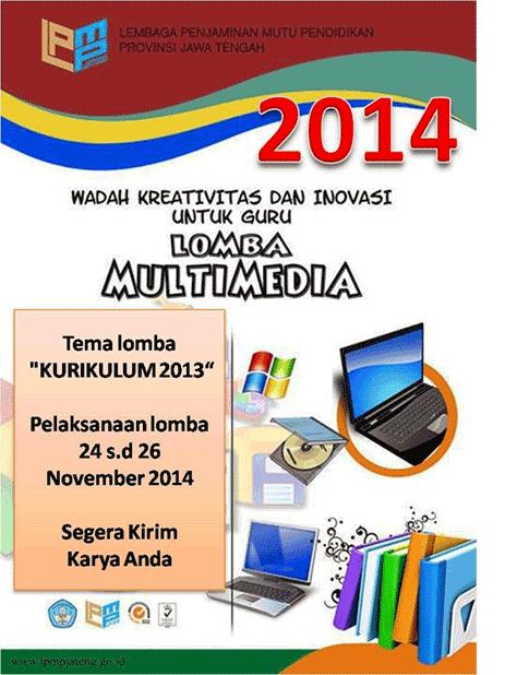 Lomba Multimedia 2104 LPMP Jateng