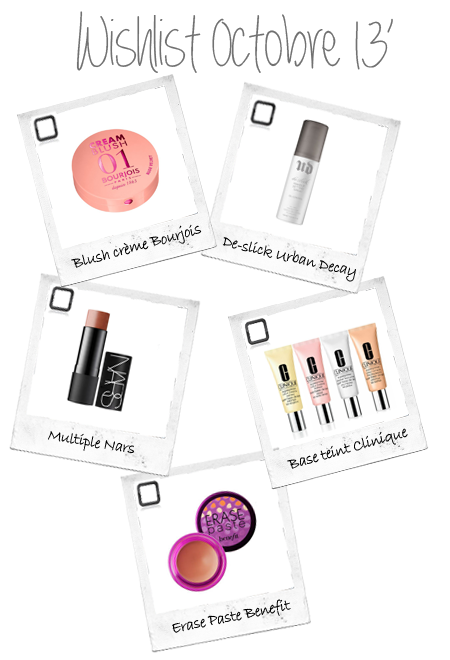 wishlist beaute benefit nars clinique benefit bourjois