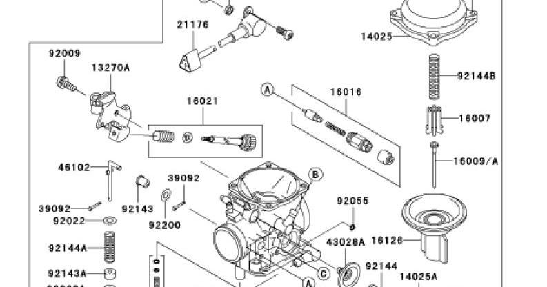 Tear it up, fix it, repeat: Common parts Keihin CV40