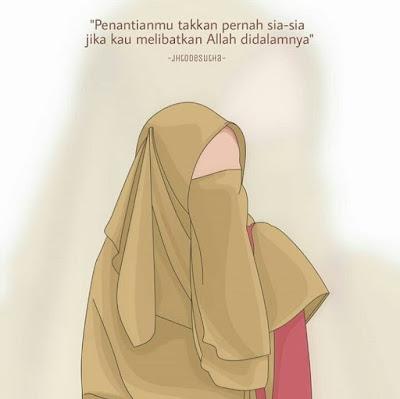 DP BBM Muslimah mencari jodoh