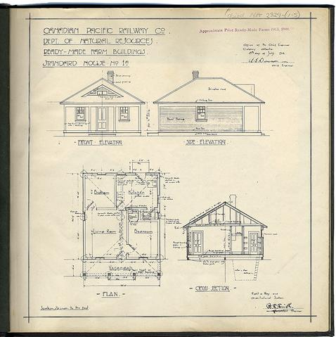 Cp rail manitoba minnesota subdivision ready made farms for House plans manitoba