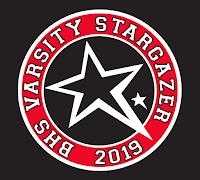 BHS Varsity Stargazer 2019 logo.