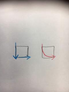 切り絵のきれいな角の切り方解説