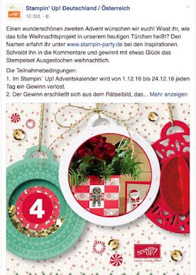 Stampin' Up! rosa Mädchen Kulmbach: Stampin' Party Step by Step Anleitung für Weihnachtliche Blumengrüße mit Ausgestochen Weihnachtlich und Lebkuchenmännchen (Creative Support Team)