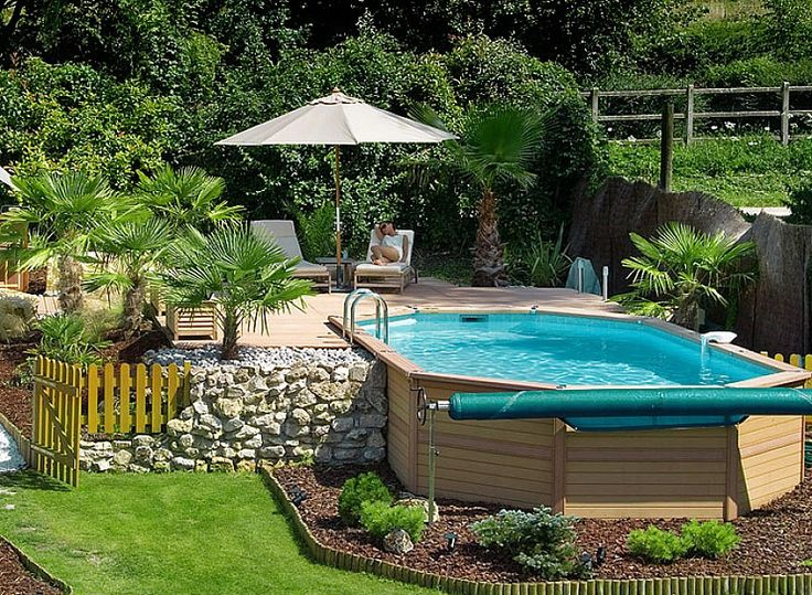 21+ The Best Above Ground Pools with Decks Design and Ideas Ground