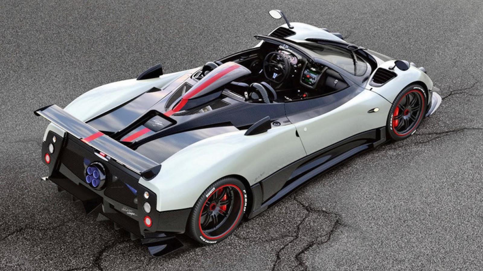 6. Pagani Zonda Cinque Roadster: 217mph