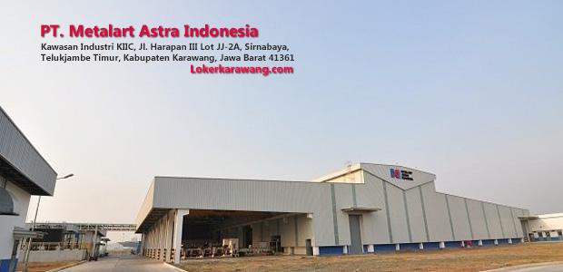 Lowongan Kerja PT. Metalart Astra Indonesia