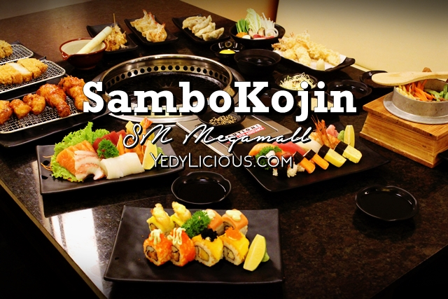 Sambo Kojin SM Megamall Buffet Blog Review Rates Discounts Promos