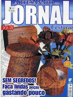 Artesanato en Jornal Cesteria