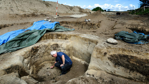 Danish archaeologists find mysterious well