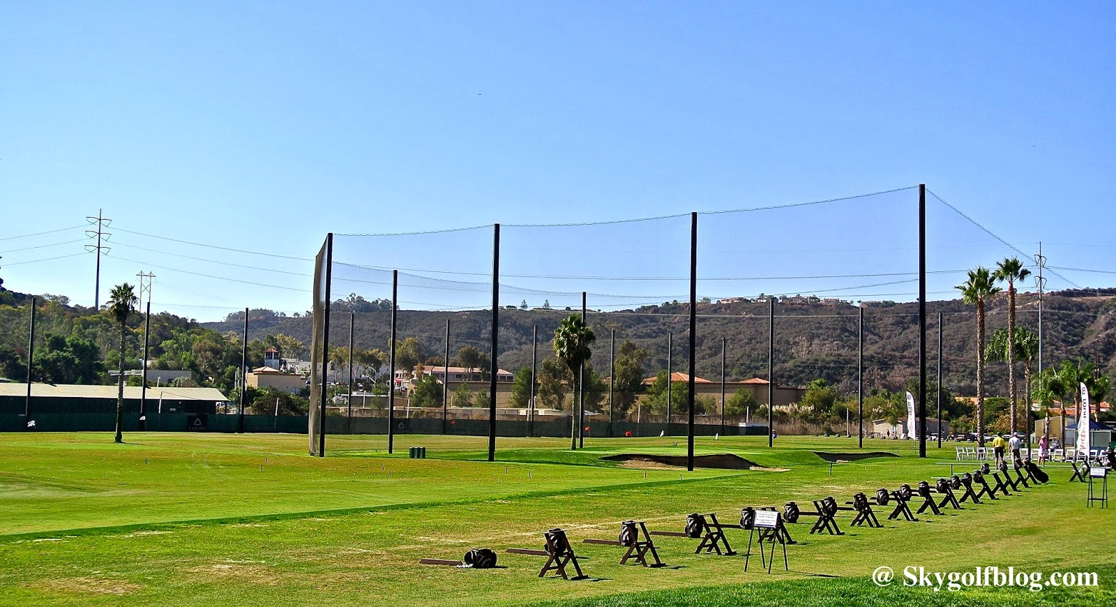 Driving Range deals in Carlsbad, CA: 50 to 90% off deals in Carlsbad. 18 Holes of Golf for Two at The Golf Club of California (Up to 46% Off). Two Options Available.. One Round of Golf for Two or Four with Cart Rental at Steele Canyon Golf Club (Up to 65% Off).
