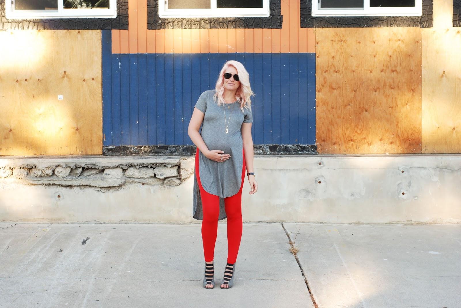 Pregnant Outfit, Preggo Leggings, Maternity Style