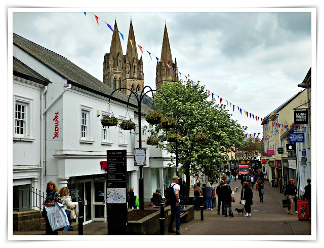Shopping in Truro, Cornwall