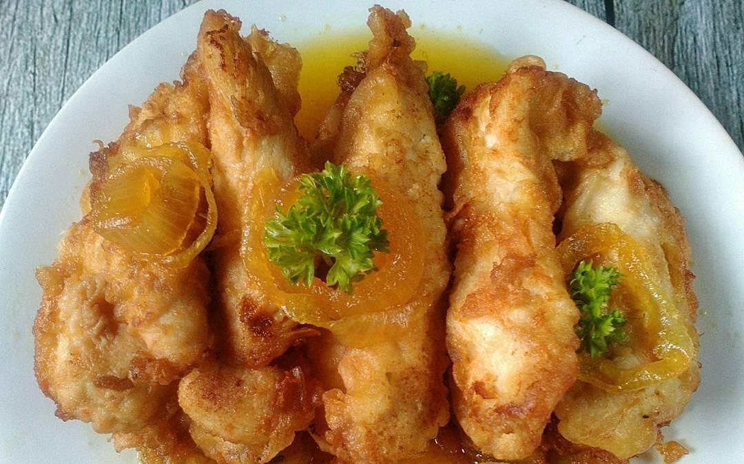 ayam ayam saus lemon restoran Resepi Ayam Kukus Halia Enak dan Mudah