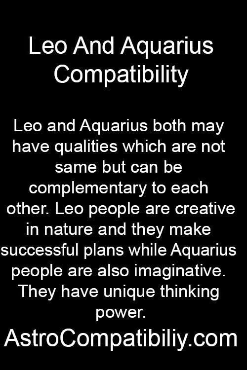 leo woman with aquarius man relationship