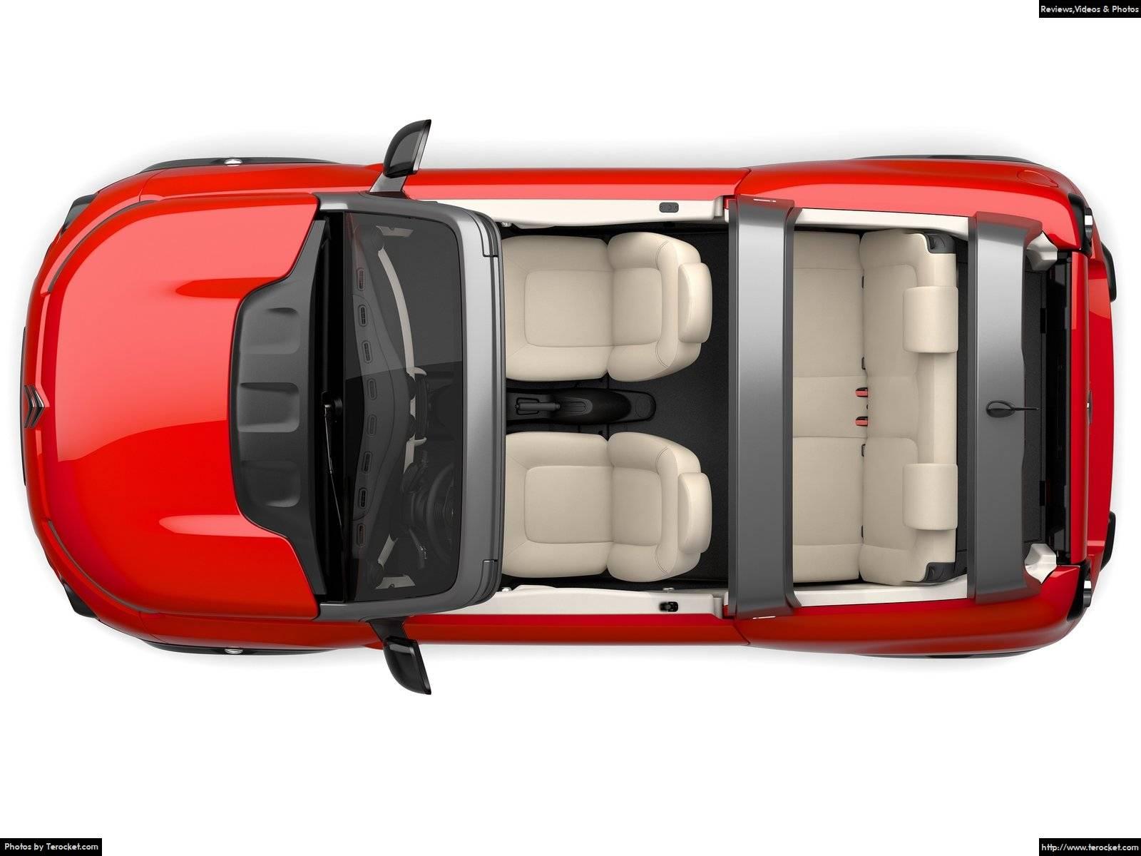 Hình ảnh xe ô tô Citroen e-Mehari 2017 & nội ngoại thất