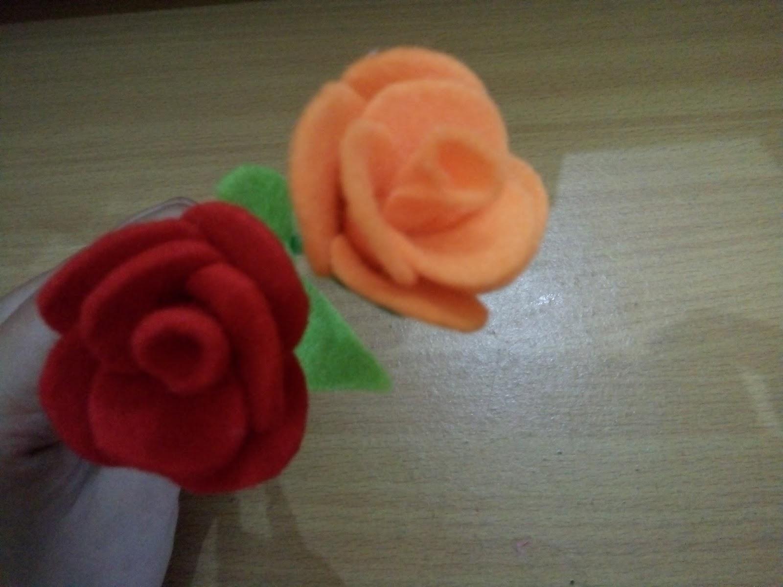 900+ Gambar Bunga Mawar Dari Kain Flanel  Terbaik