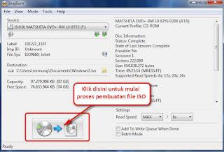 {focus_keyword} Tutorial Cara mudah Membuat File ISO imgburn2