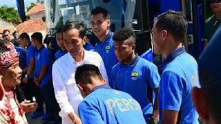 Jokowi Buka Piala Presiden 2018 di Stadion GBLA, Polisi Siapkan Pengamanan Khusus