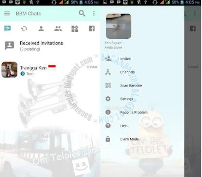 BBM Mod Om Telolet Om Apk v3.2.0.6 Terbaru For ANdroid Clone