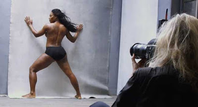 Annie Leibowitz photographs Serena Williams for the 2016 Pirelli calendar
