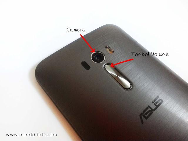 Detail Bagian Belakang ASUS Zenfone Selfie