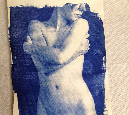 Merry Christmas/Happy Birthday/Cyanotypes Rule