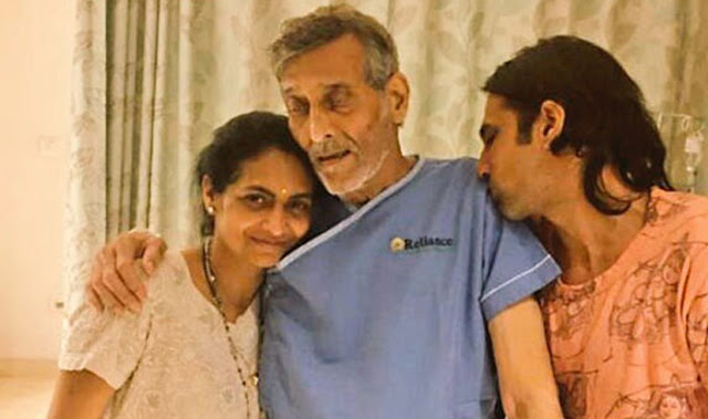 Son Rahul Shares The Latest Updates About Vinod Khanna's Health