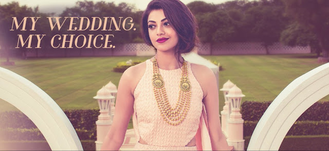 Kajal agarwal Latest pic in Khajana jewellery photoshoot