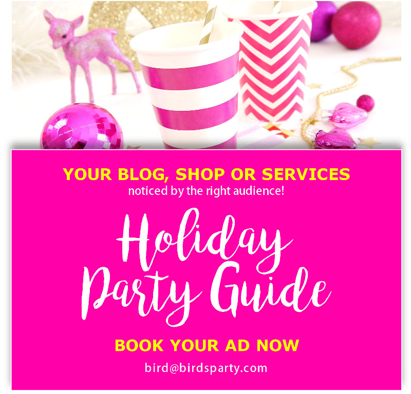 Holiday Party & Gift Guide | BirdsParty.com