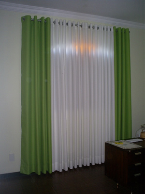 S tio bela vista cortinas sala for Modelos de cenefas para cortinas