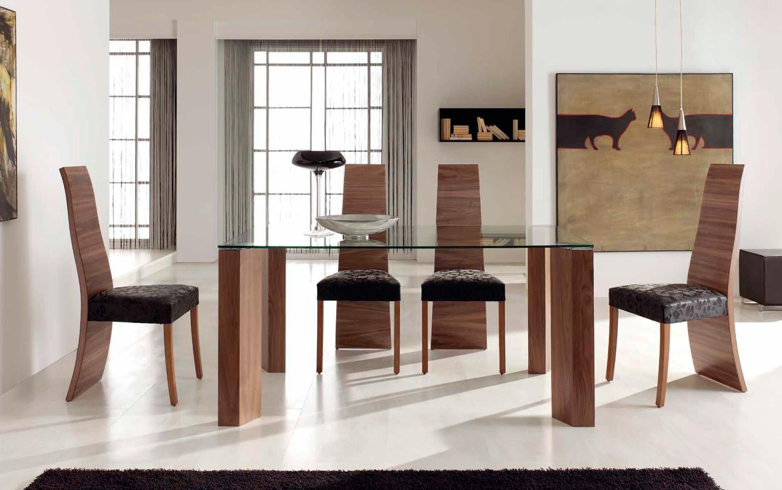Mesas de comedor como decorar una mesa de comedor de cristal for Mesas de cristal