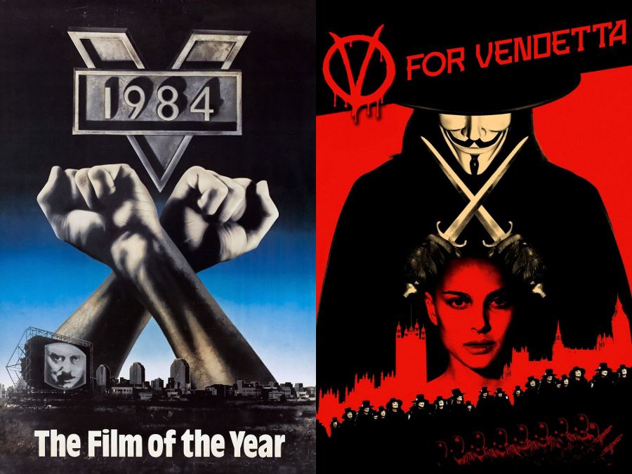 v for vendetta newspeak