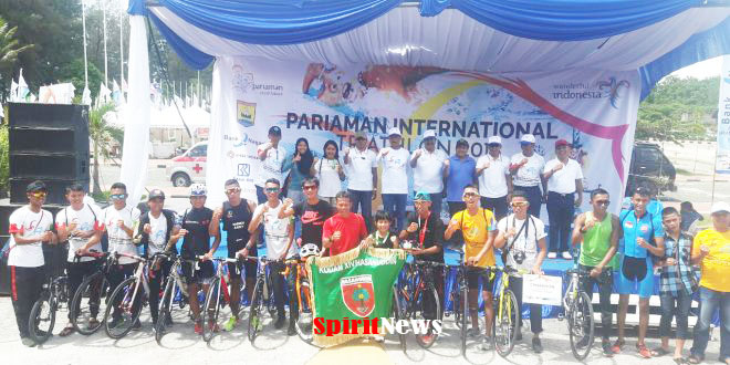 Atlet Kodam Hasanuddin, Juara Pariaman Internasional Triathlon 2018 di Sumbar