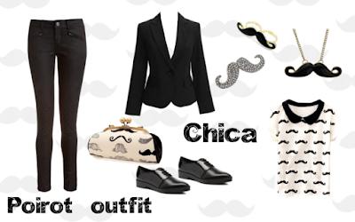 Outfit inspirado en Poirot - Agatha Christie