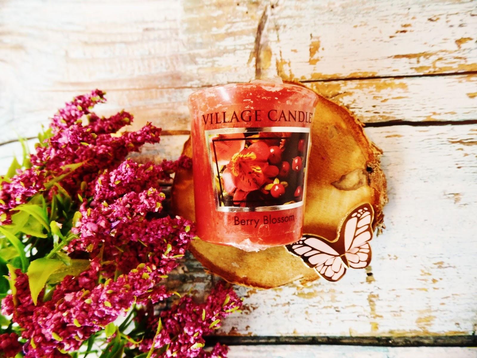 Village Candle recenzja Berry Blossom Votive