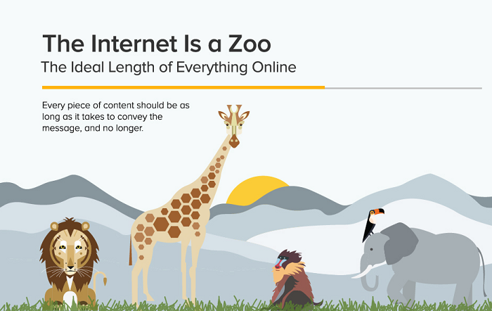 Twitter Tweets, Facebook Posts, Domains, Google+ and Blog Subject Lines – The Optimal Length Of Everything Online - #infographic
