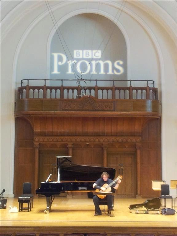 Christoph Denoth at the BBC Proms at the Cadogan Hall