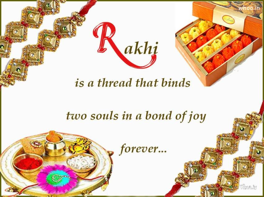 picture about Rakhi Cards Printable named 11+ Most current Choice Of Delighted Raksha Bandhan 2017 SMS