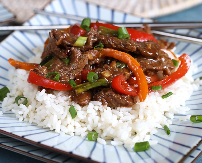SUPER EASY MONGOLIAN BEEF STIR FRY RECIPE