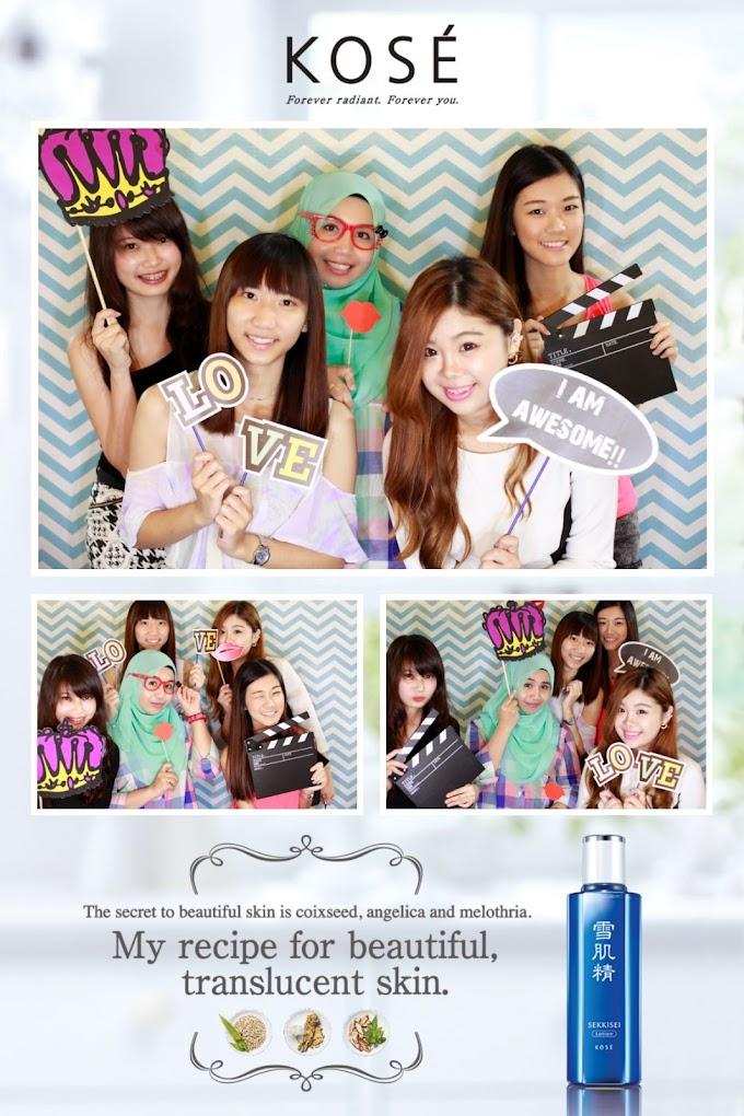 KOSÉ Photobooth!! ('',)