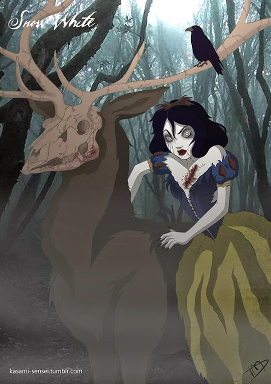 Disney Princesses-Transformed-19