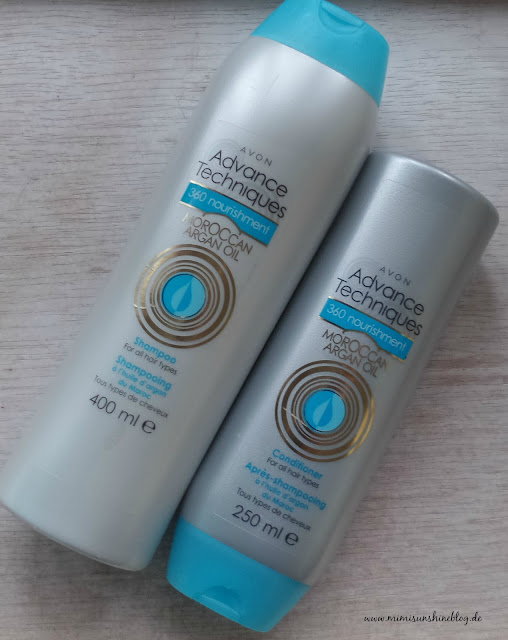 "Avon Advance Techniques Shampoo & Conditioner ""Marokkanisches Arganöl"""