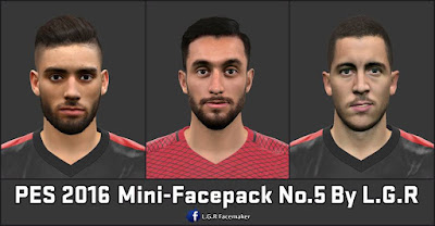 PES 2016 Mini-Facepack No.5 By L.G.R