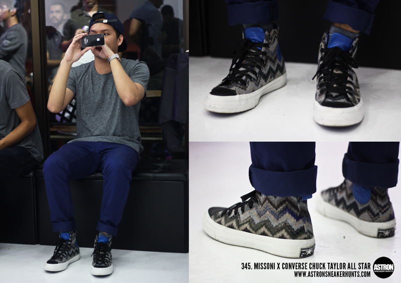 huge selection of 3c4f3 71488 Missoni x Converse Chuck Taylor All Star