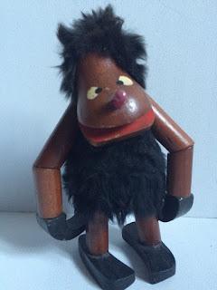 Teak Figur Affe Bojesen Vintage 60's monkey Troll Gorilla Holz